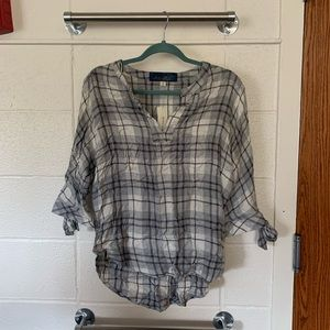 Flannel Top from Francesca's